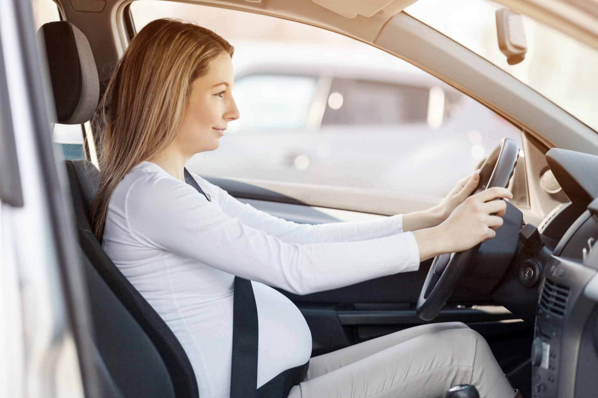 Is it safe to travel by car while 7 months pregnant
