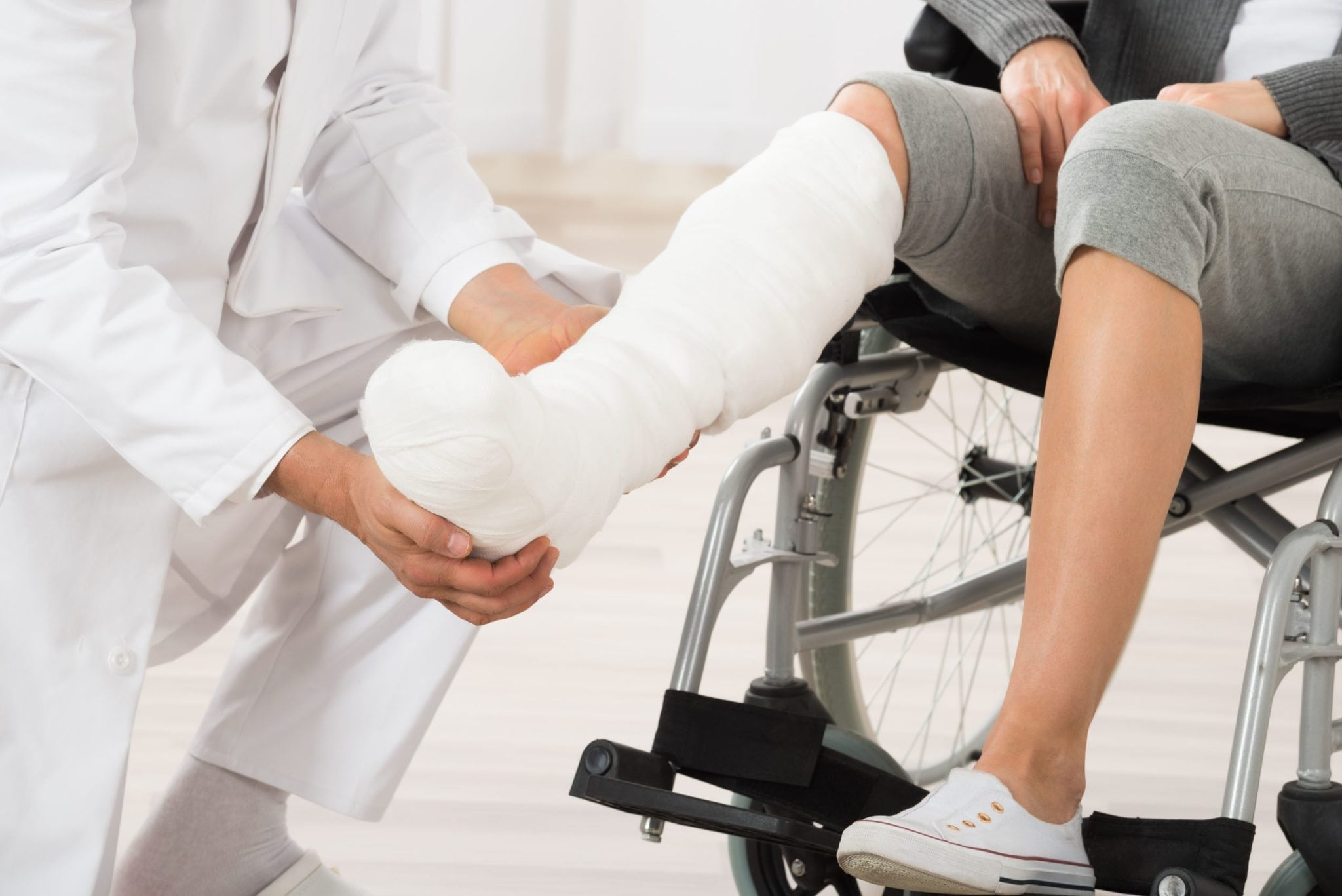 What is a Total Contact Cast? - familydoctor org